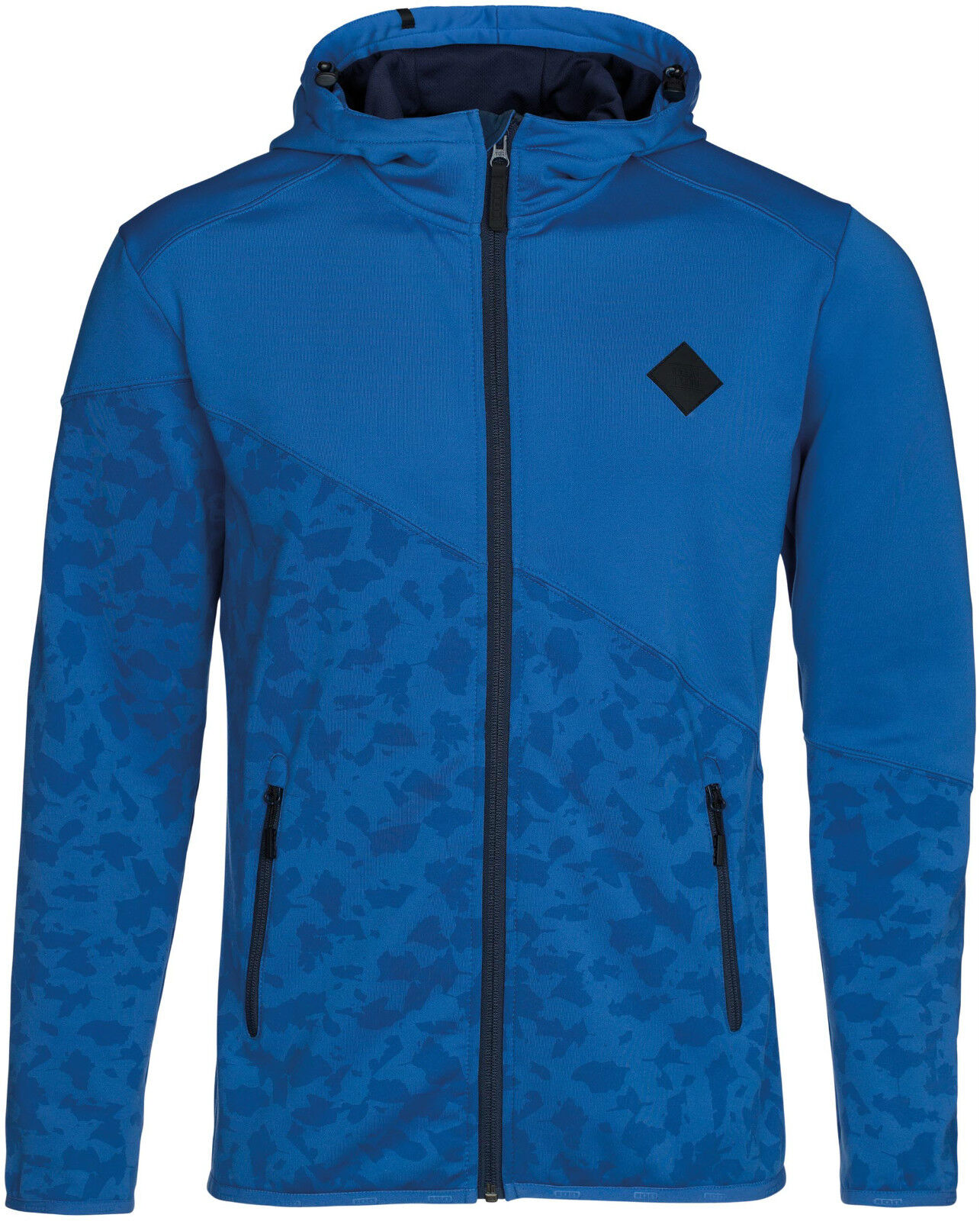 Ion Zip Hoodie Technostretch 2 couches Polaire