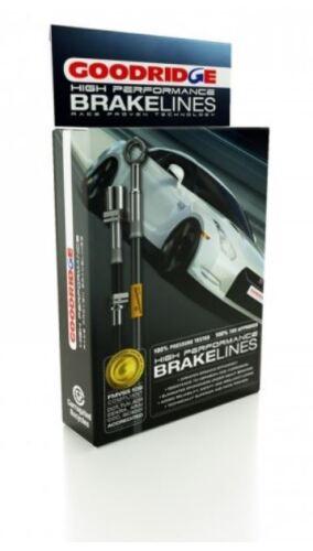 Goodridge S//Steel Brake Lines for Honda Civic Type-R EP3 09//2001-09//2005