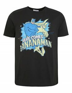 Bananaman-Classic-80-039-s-Cartoon-Officially-New-Licensed-Various-Sizes-T-Shirt