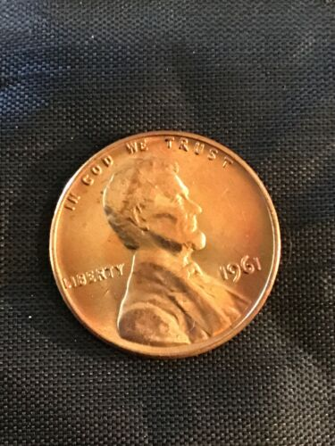15/% off 5+ 1961 P Lincoln Penny BU From Mint Roll