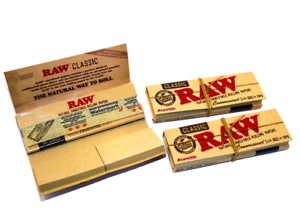 RAW-Classic-1-1-4-Papers-Tips-Smoking-Tobacco-Paper