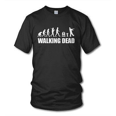 Evolution WALKING DEAD - KULT T-Shirt - Zombie Grimes Daryl The Dixon Serie