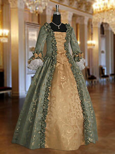 Image result for GOLDEN BROWN DAMASK GOWN