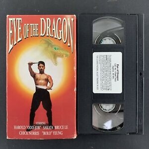 EYE-OF-THE-DRAGON-VHS-Tested-Plays-Great