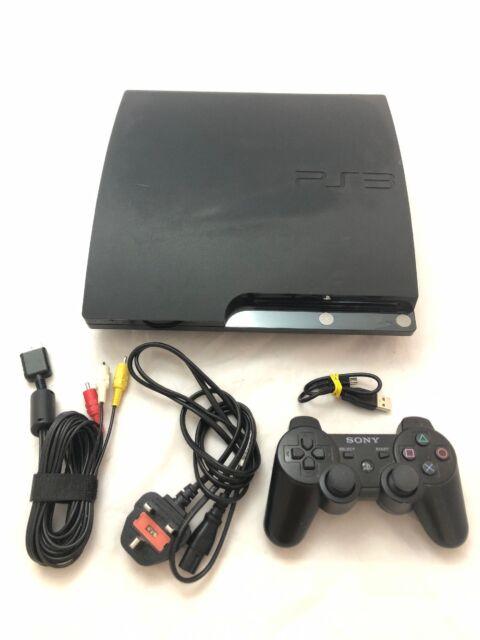 Sony Playstation 3 Slim Cech 3004a 160gb Console Charcoal Black Gunstig Kaufen Ebay