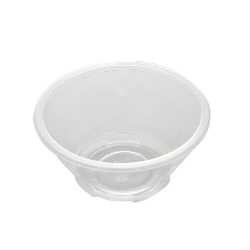 20 Pcs Clear Plastic Disposable Rice Serving Bowls Outdoor Picnic PartyFEH