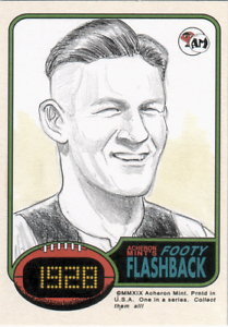 Harry-Collier-Collingwood-Magpies-AFL-VFL-Footy-Acheron-Mint-sketch-card