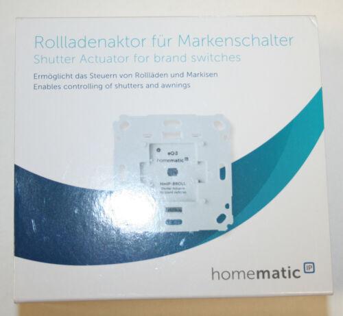 Homematic IP Rolladenaktor fur Markenschalter HmIP-BROLL 151322A0A