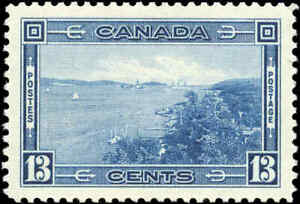 1938-Mint-Canada-VF-Scott-242-13c-Pictorial-Issue-Stamp-Never-Hinged