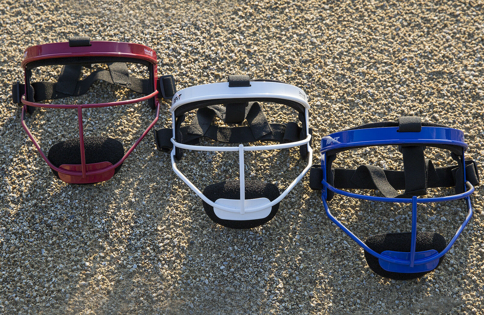 RIP-IT Defense Softball Fielder's Mask Provides – Lightweight Secure Fit Provides Mask Max 97582d