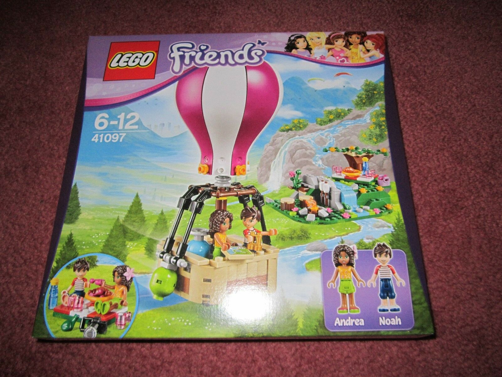 LEGO FRIENDS HOT AIR BALLOON 41097 - NEW BOXED SEALED