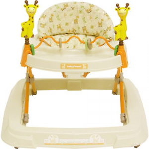 Baby Walkers Toys High Back Padded Seat 3 Position Height Adjustable