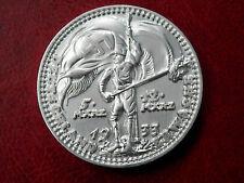 1933 ADOLF HITLER WW2 GERMAN NUMISMATICA Marco Coin + titolare argentati