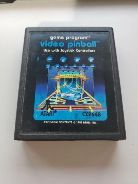 ATARI 2600: Video Pinball Works great!