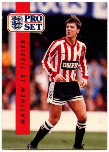 C363 Matthew Tissier Southampton #211 Football Set Pro commerce 1990-1 carte