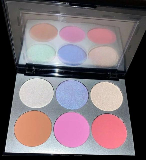 SEPHORA COLLECTION Holographic Face & Cheek Palette BNIB retail $28 Authentic