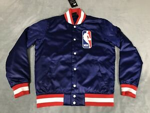 Details about Nike SB x NBA Bomber Jacket Mens sz SMALL S Deep Royal Blue AH3392 455 NWT