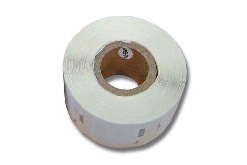 original vhbw® 1000 Etiketten pro Rolle 12x24mm für DYMO Labelwriter SE300