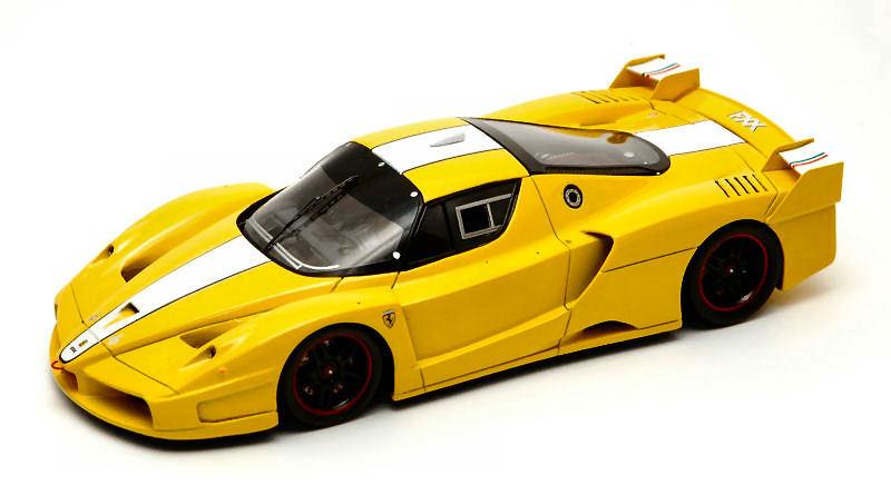 Ferrari fxx 2005 gelb 1 43 modell rotline