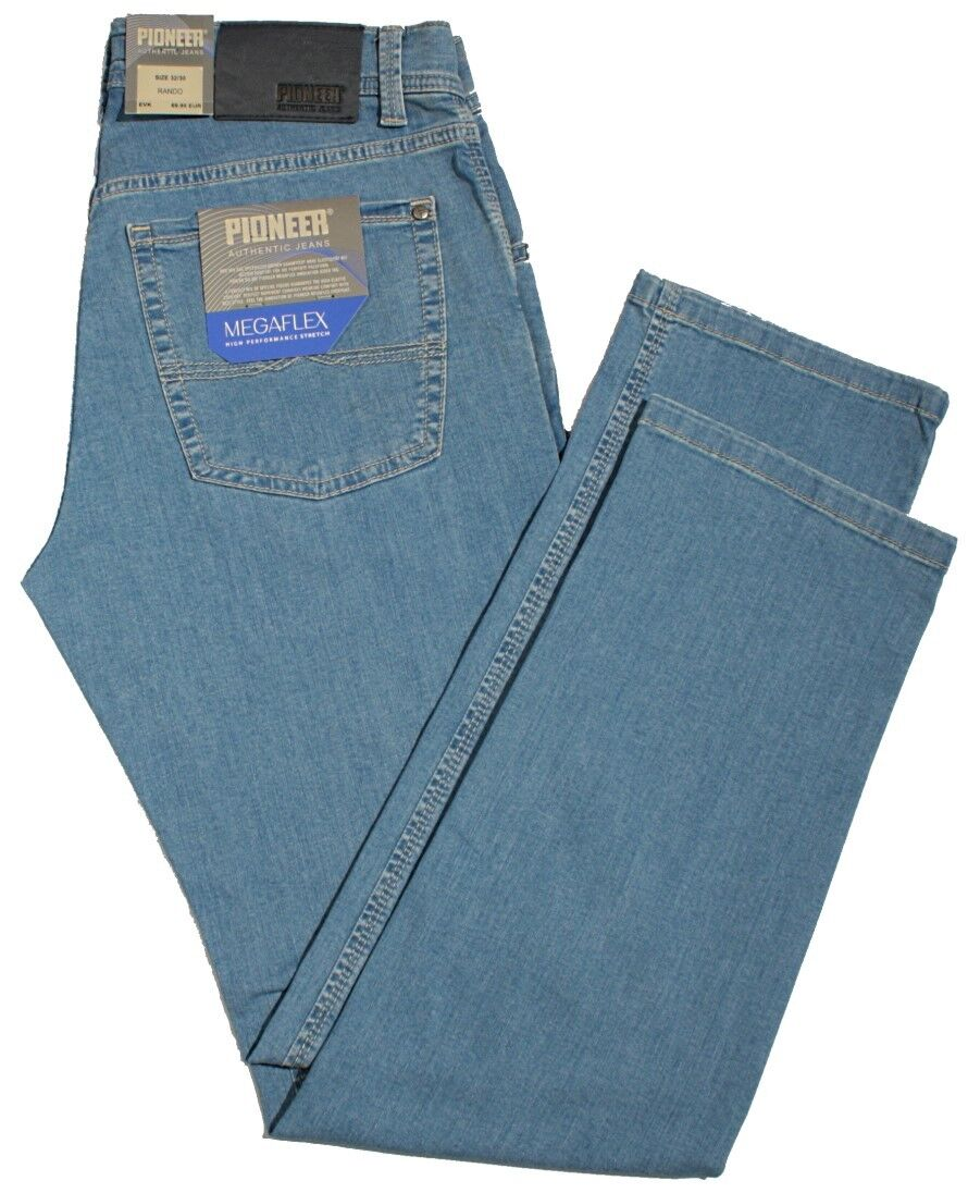 PIONEER Jeans RANDO MegaFLEX 1680 9874-08 light bluee Stretch leicht