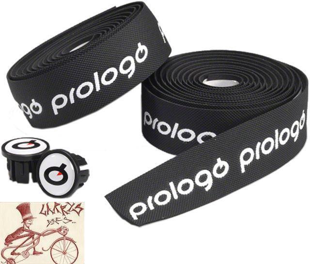 PROLOGO ONE TOUCH GEL BLACK/WHITE BICYCLE HANDLEBAR BARTAPE BAR TAPE