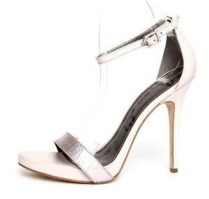 af54c2576282 Sam Edelman Eleanor Women s Leather Lavender High Heels Sandals Size ...