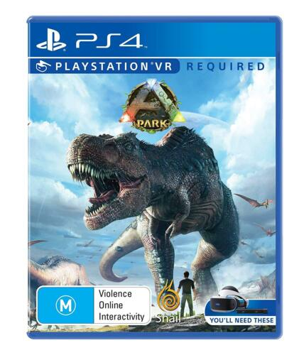 ARK Park VR Dinosaur Theme Crafting Exploration Game Sony Playstation 4 PS4 PSVR