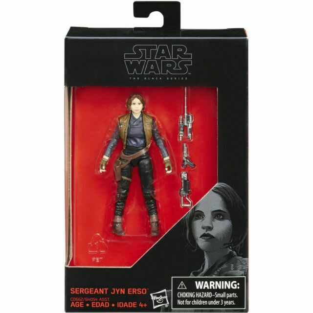 Sergente jyn erso Walmart Exclusive Star Wars The Black Series HASBRO 3,75/""