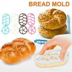 2PCS-Set-Bread-Mold-Plastic-Pastry-Dough-Cutter-Cookie-Biscuit-Press-Mould
