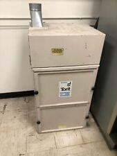 Donaldson Torit Model 64 Cabinet Dust Sandblast Collector 115230v 3600rpm 34hp