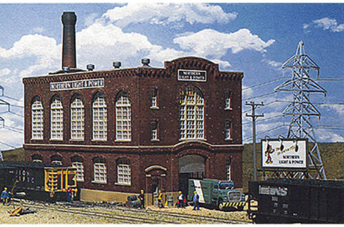 Walthers Cornerstone N Scale Building//Structure Kit Northern Light /& Power