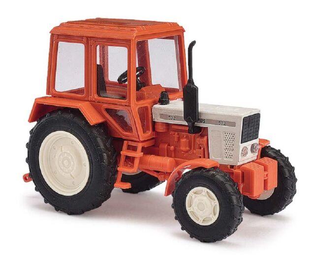 Busch 51310 1:87 H0 Belarus 572 beige//rot Traktor Exportmodell  NEU//OVP