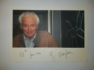 034-Nobel-Prize-in-Physics-034-Georges-Charpak-Hand-Signed-8x6-Todd-Mueller-COA