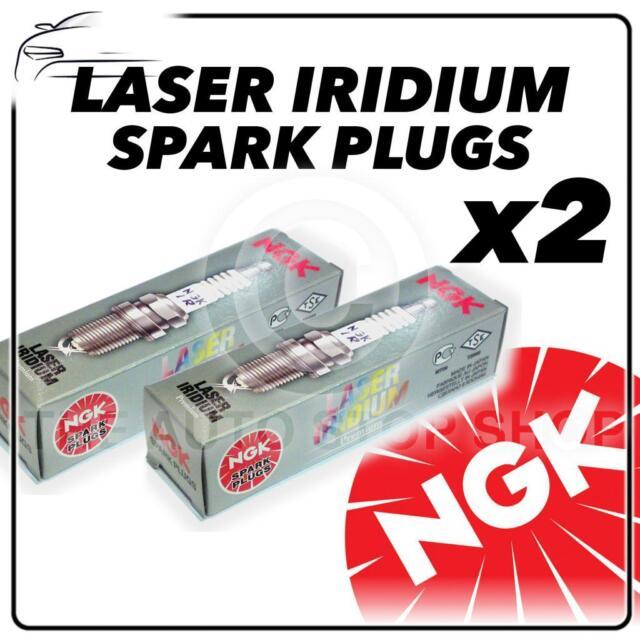 2x NGK SPARK PLUGS Part Number LMAR8AI-8 Stock No. 92288 Laser Iridium Genuine