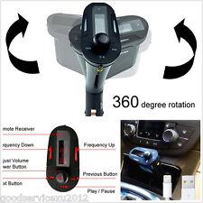 Car MP3 Player Stereo Wireless 87.5-108.0MHz FM Transmitter USB Port Modulator