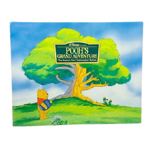 Disney Pooh's Grand Adventure Search For Christopher Robin Lithograph x4 New