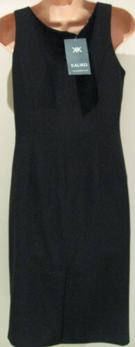Tight 00 Polyester 10 Dress Kaliko Party Size Shift new Short £99 Black PO6w7qC