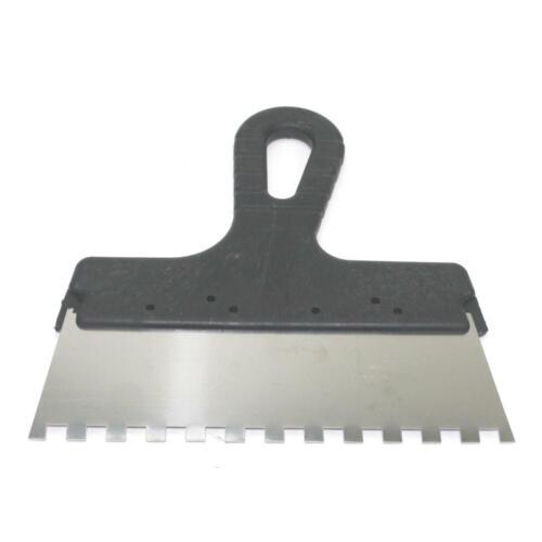 Zahnspachtel Kleberspachtel Fliesenleger Spachtel Zahnkelle 8 x 8 mm