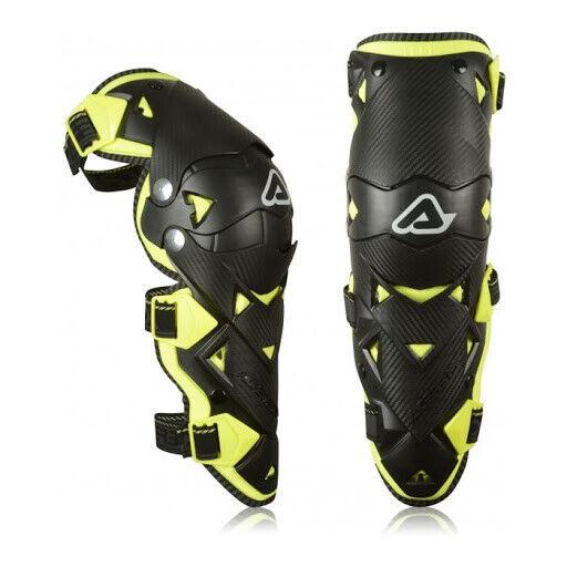 Ginocchiere moto cross enduro con snodo Acerbis Impact EVO protezione ginocchio