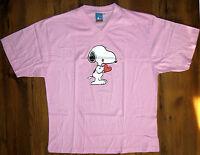 Peanuts Snoopy Damen BIG Shirt T- Shirt Gr. 36/38, 40/42, 44/46 rosa NEU