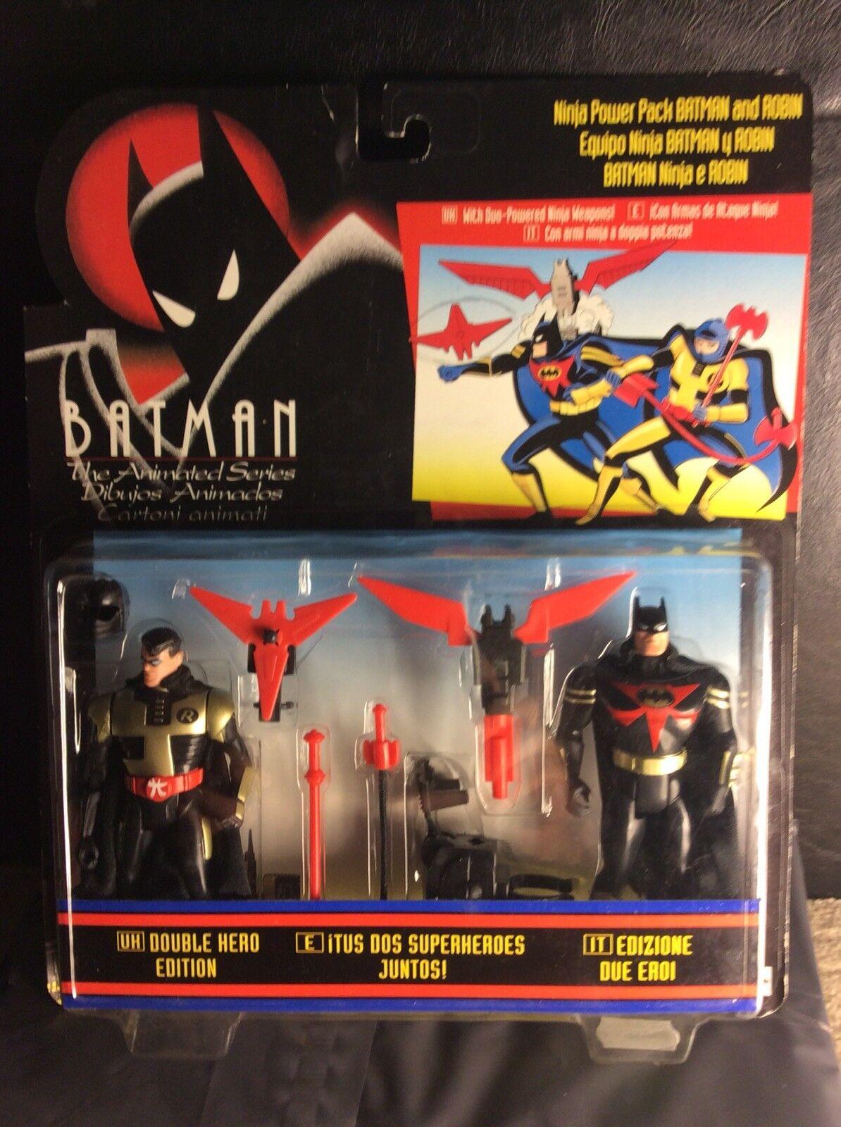1994 Adventures Of Batman And Robin Ninja Power Double Hero Edition