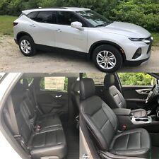 2019 2020 2021 Chevrolet Blazer Katzkin Leather Seat Covers Cover Black