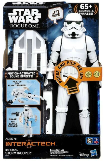 STAR WARS IMPERIAL STORMTROOPER BATTLE DAMAGE ROGUE ONE LOOSE COMPLETE