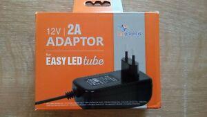 Adaptor Tecatlantis Pour Easy Led Tube : 12v | 2a MatéRiaux De Choix