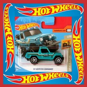 Hot-Wheels-2020-67-JEEPSTER-COMMANDO-71-250-NEU-amp-OVP
