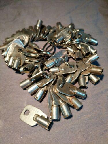 vending machine key 1 Ace Tubular 7-Cut Key For Coca-Cola Pepsi Soda Machines