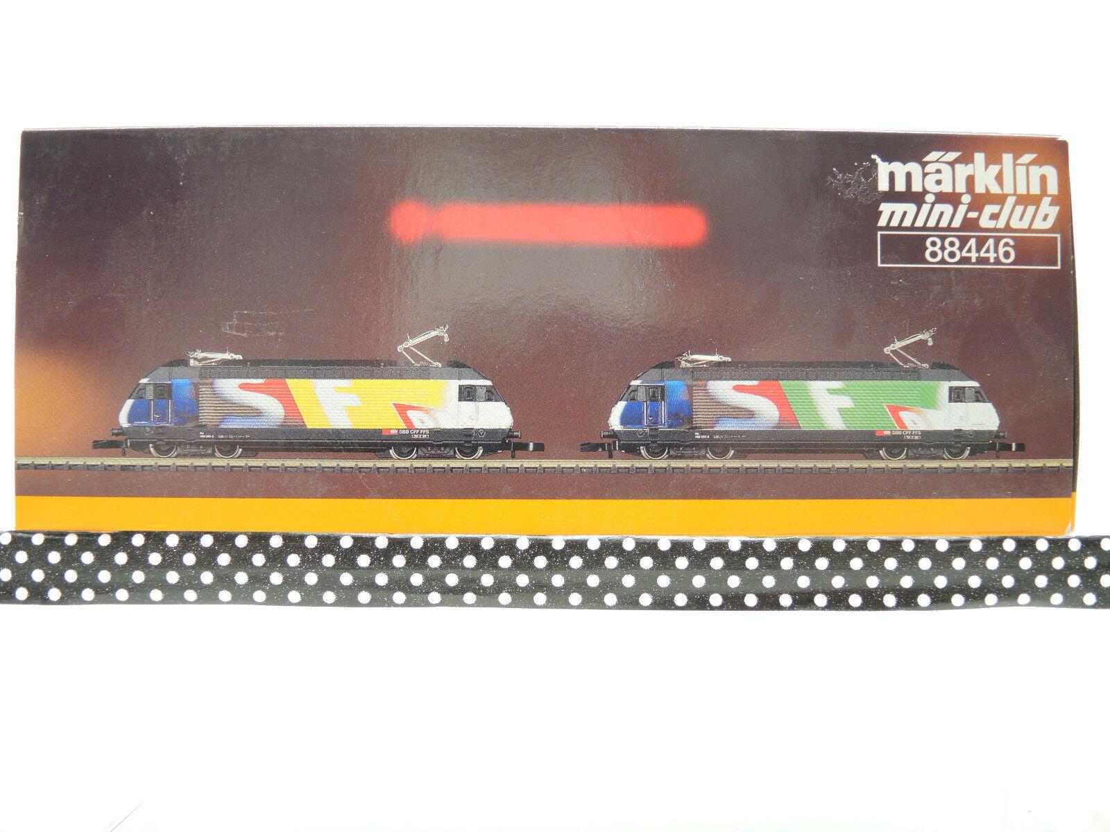 marklin 88446 svizzeri Zugset re 460 032-6 056-5, delle delle delle SBB CFF,, FFS, Top  OVP fb1eaf
