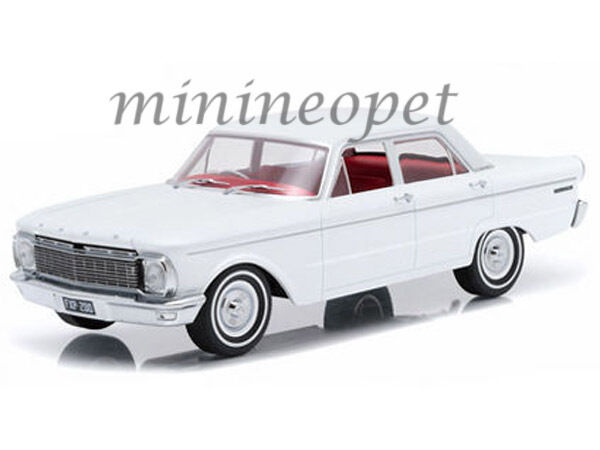 GREENLIGHT DDA003 ARTISAN 1965 FORD XP FALCON 50TH ANNIVERSARY 1 18 WHITE