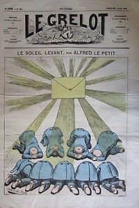 Caricature-Politique-the-Soleil-Levant-Journal-Satirical-the-Bell-of-1873
