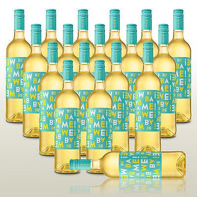 18 Fl. Bebame Blanco - cooler Weißwein für gesellige Runden! Wein trocken